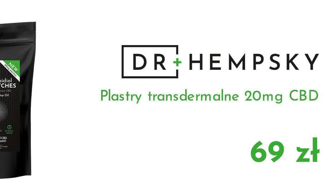 Dr Hempsky: Plastry CBD – 3 główne zalety, dlaczego warto?